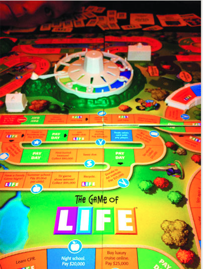 The Game of Life and the master of that game.