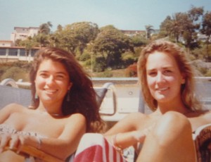 Valerie and me in 1987. We had it all figured out