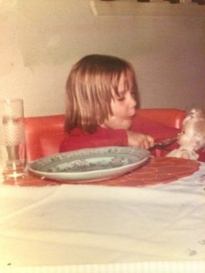 Me, founder of the clean plate club